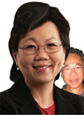 Helen and Yeo Cheow Tong